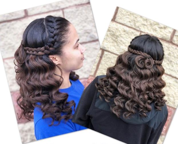 A recent beauty and hair salon job in the area